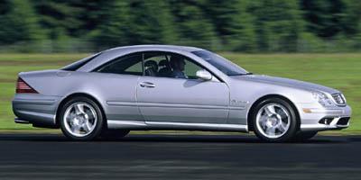 2001 Mercedes Benz Cl500 Mercedes-benz Cl500:main Image