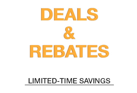 Deals and Rebates
