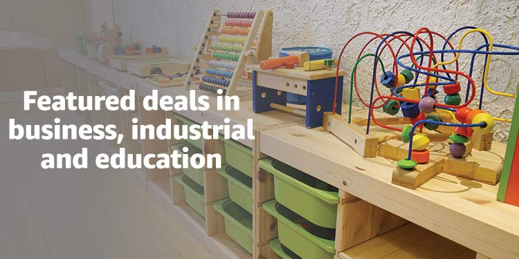 Featured deals in bsuiness, industrial and education