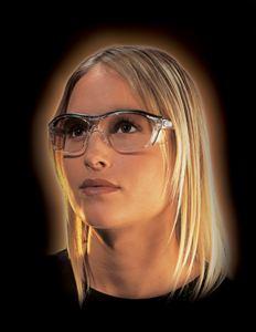 Eye protection looks like regular glasses