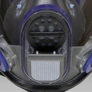 Exhalation valve keeps worker cooler