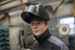Eye protection for welders