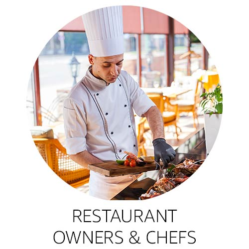 Restaurant owners and chefs