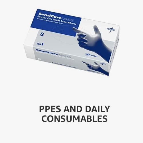 PPEs and daily consumables