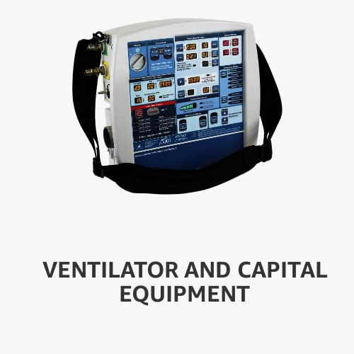 Ventilator and capital equipment