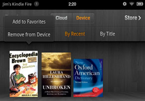 how to put books on my kindle fire