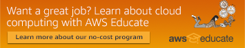 Want a great job? Learn about cloud computing with AWS Educate