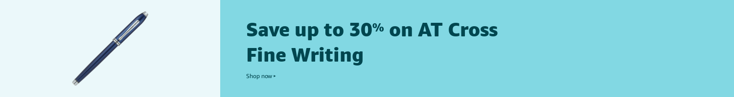 Save up to 30% on AT Cross Fine Writing