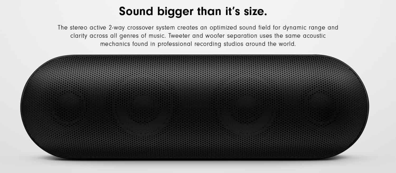Sound Bigger Than its Size
