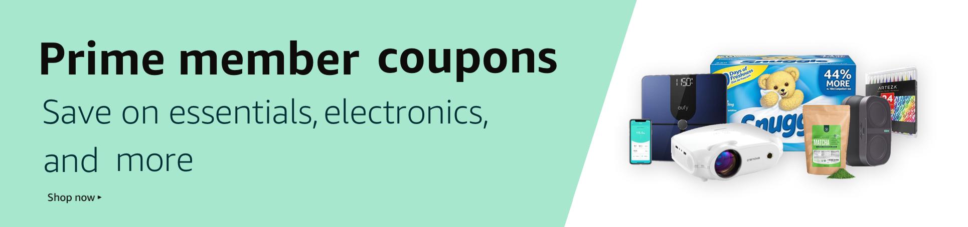 Prime member coupons