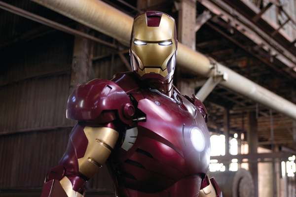 stills from iron man click for larger image