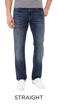 PerfectFit - Men's Straight Jeans