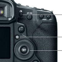Canon EOS-1D X Controls at Amazon.com