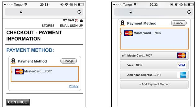 how to pay with amazon
