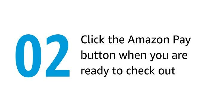 Click the Amazon Pay button when you are ready to check out