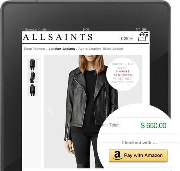 allsaints kindle