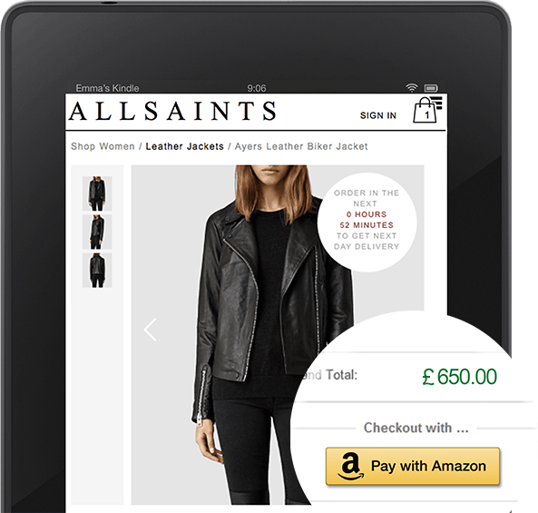 Kindle AllSaints