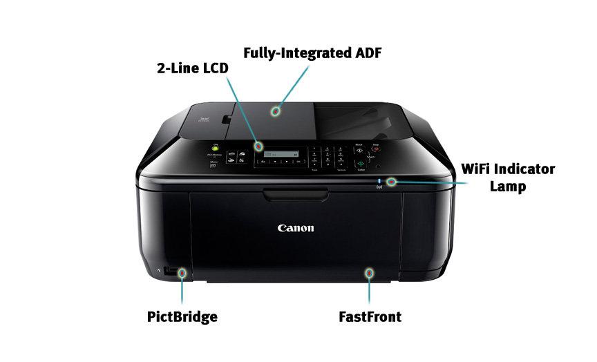 Canon 5783b003 Pixma Mx432 Wireless Color Photo Printer