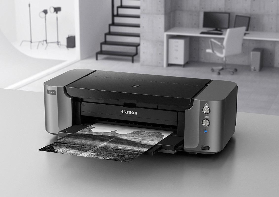 canon pixma pro 10 color professional inkjet photo printer electronics. Black Bedroom Furniture Sets. Home Design Ideas