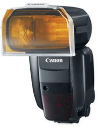 Canon 600 EX filter holder at Amazon.com