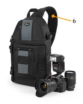 Lowepro SlingShot 202-strap at Amazon.com