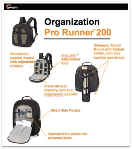 Lowepro Pro Runner 200 at Amazon.com