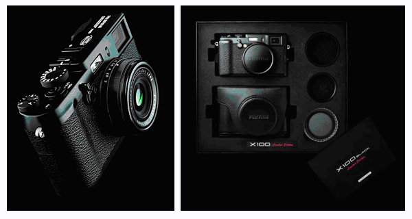 Fujifilm FinePix X100 concept camera  highlights