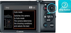 Canon PowerShot A1300 Help at Amazon.com