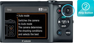 Canon PowerShot A2400IS Help at Amazon.com