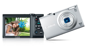 Canon PowerShot A2400 IS at Amazon.com