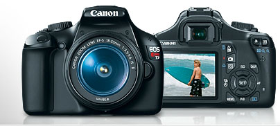 Canon EOS Rebel T3 DLSR at Amazon.com