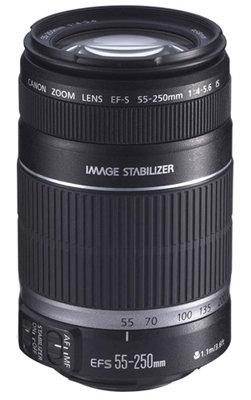 Canon EF-S 55-250mm Lens atAmazon.com