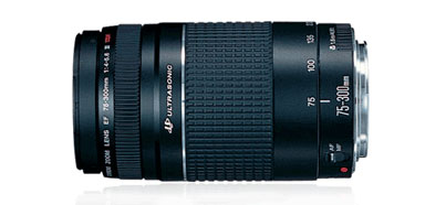 Canon EF 75-300mm Lens at Amazon.com