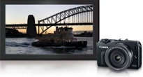 Canon EOS M Digital Camera with Lens at  Amazon.com