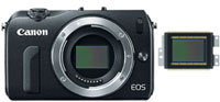 Canon EOS M ASPCS Sensor at Amazon.com