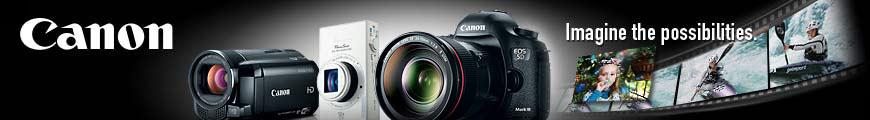 Canon brand store at Amazon.com