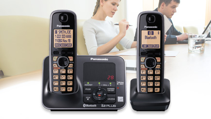 amazon com panasonic kx tg7622b dect 6 0 link to cell via bluetooth rh amazon com Panasonic Kx- Tg444sk Panasonic Phone KX -TGA470