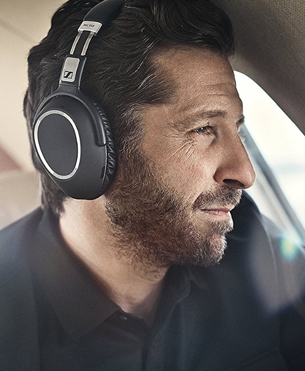 Sennheiser PXC 550 noise-cancelling headphones