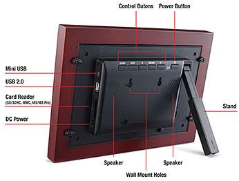 viewsonic vfm1024w11 10inch digital media frame