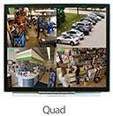 Quad Split-Screen