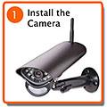 Install the camera