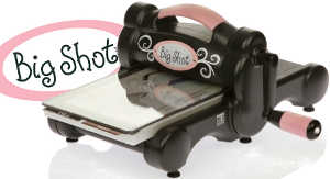 The one and only Big Shot die-cut machine from Sizzix