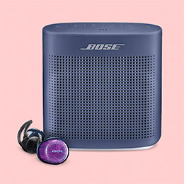 Save up to 30% on Bose Headphones and Speakers.