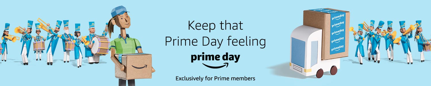 Keep that Prime Day feeling