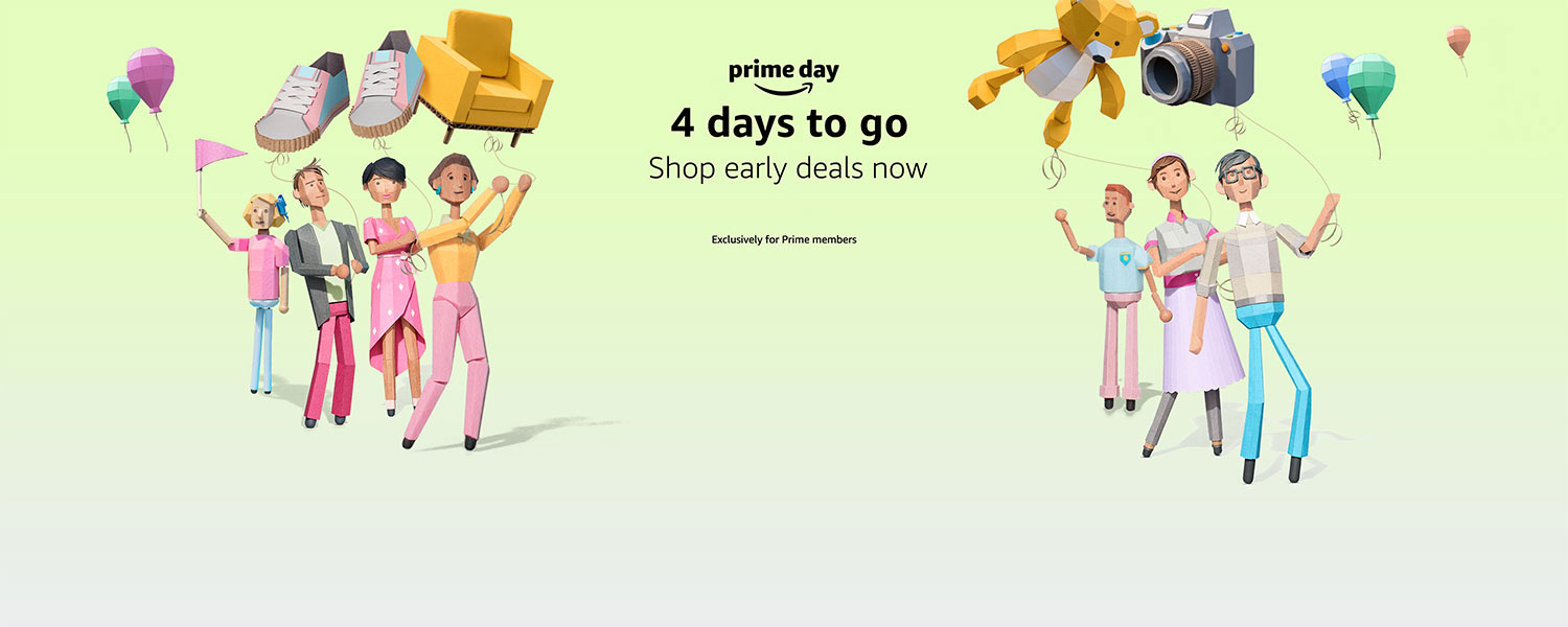 Prime Day. 4 days to go.