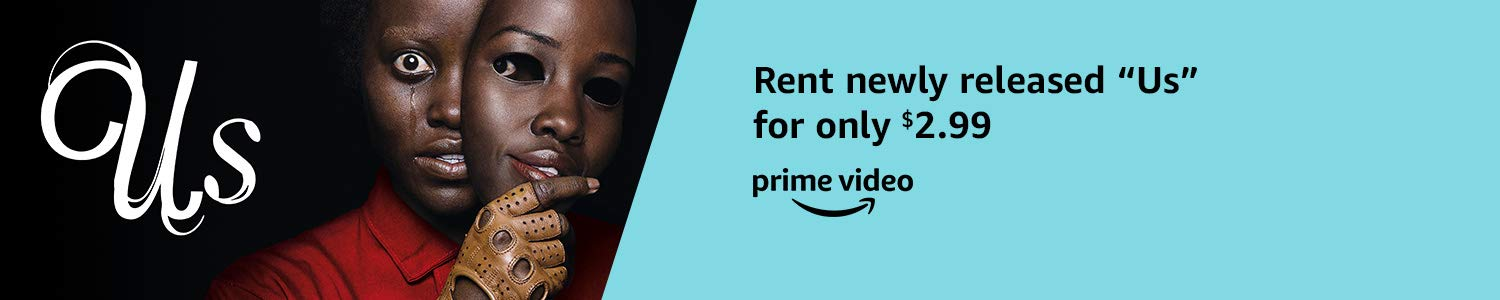 "New release ""Us"" rental for only $2.99 from Prime Video"