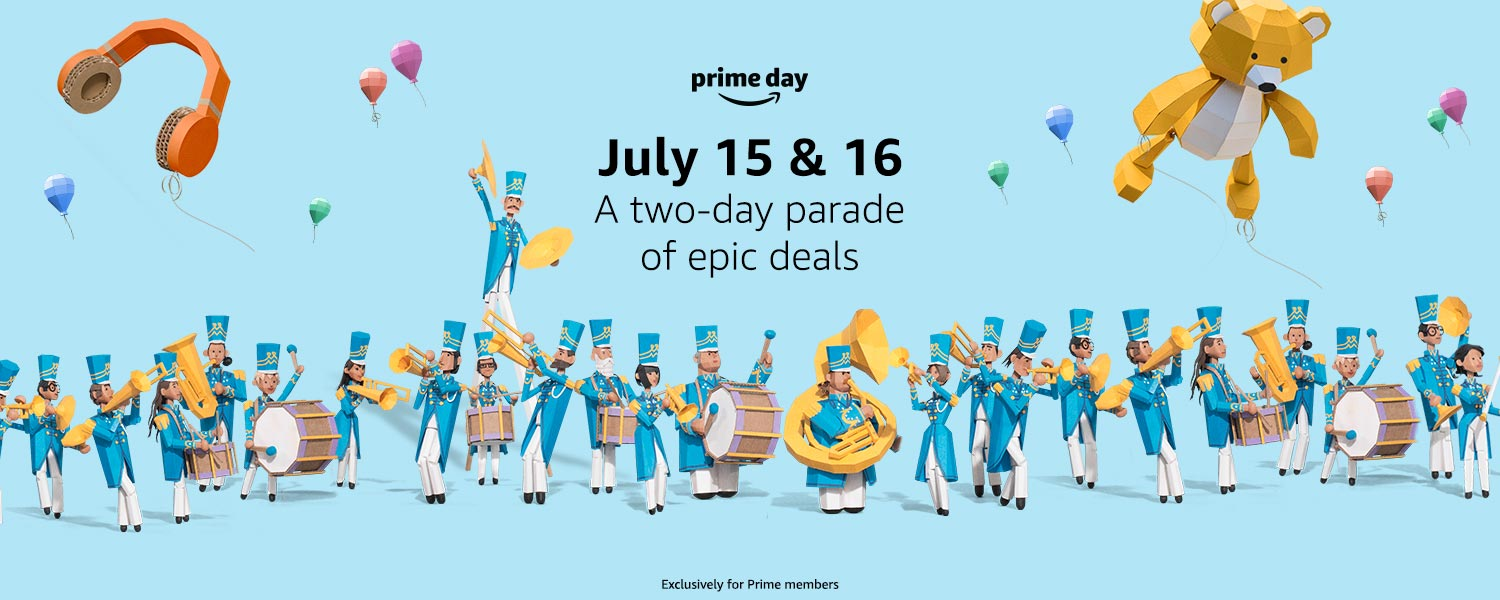 Prime Day is July 15 and 16. Get ready.