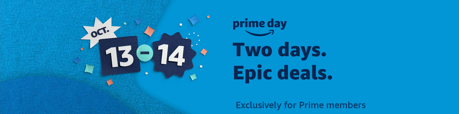 Two days. Top deals. Oct 13 - 14.