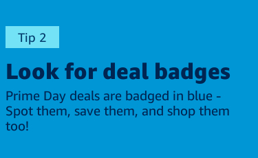 Look for deal badges