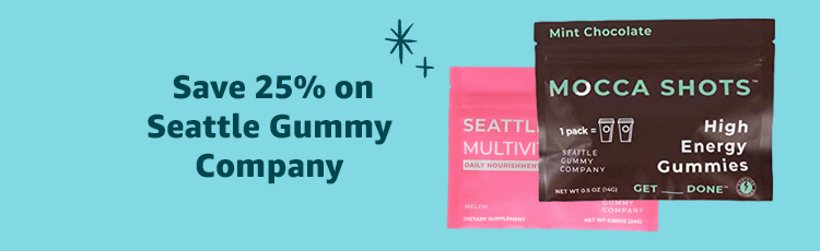 Save 25% on Seattle Gummy Company